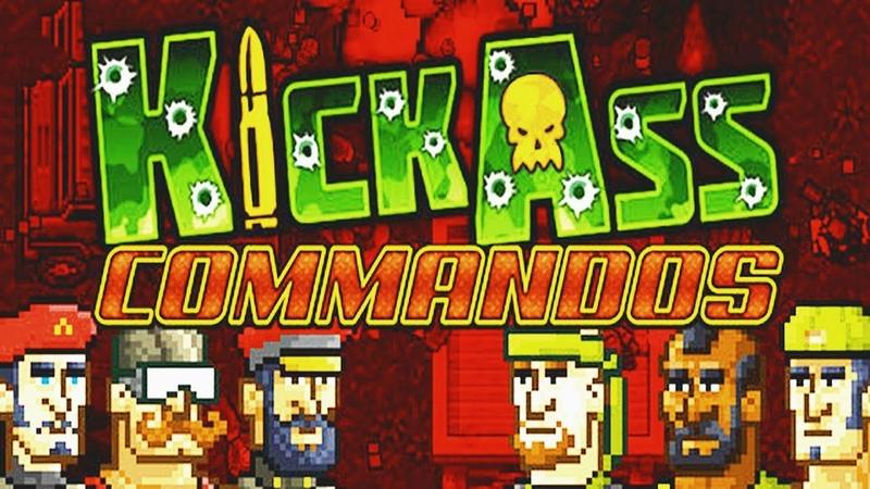 KickAss Commandos - Android / iOS Gameplay