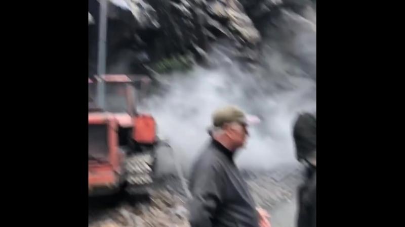 Цунтинский район бригада дорожников Кедеро- Махачкала .