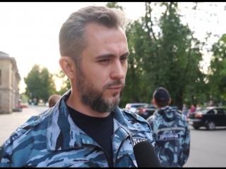 Организация и работа добровольной народной дружины на примере ДНД г.Гатчина (Новостной блок от 1 августа 2018г)