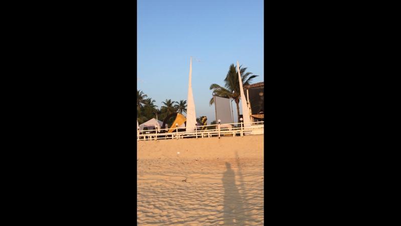 Индия , Южный Гоа, пляж Кавелоссим