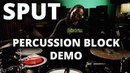 Robert Sput Searight - Meinl Percussion Block Drum Set Groove Demo
