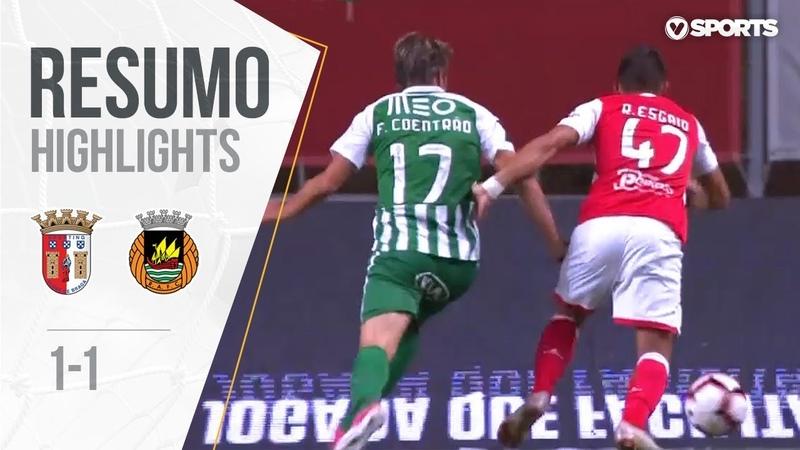 Highlights | Resumo Sp. Braga 1-1 Rio Ave (Liga 1819 7)