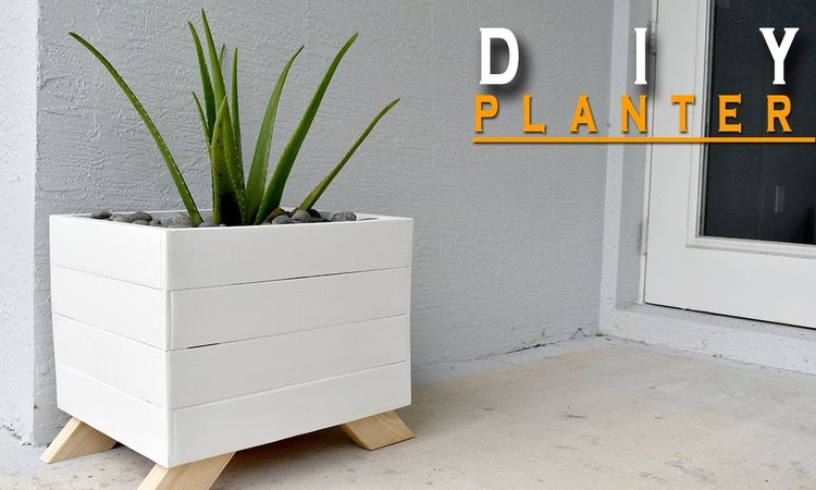 DIY Planter Box From Pallets