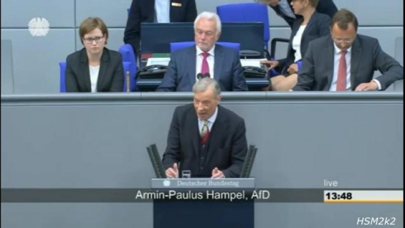 -Eine NGO-Politik- um Länder zu destabilisieren- ►AfD - Armin-Paulus Hampel im Bundestag