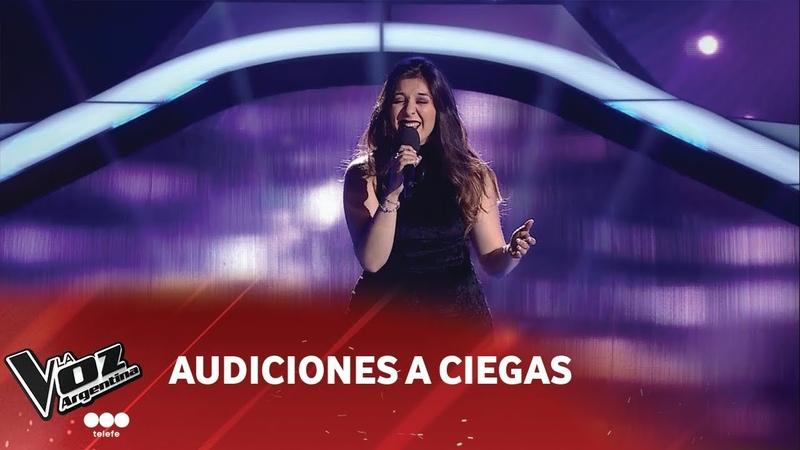 Paula Torres I'll always love you Whitney Houston Audición a ciega La Voz Argentina 2018