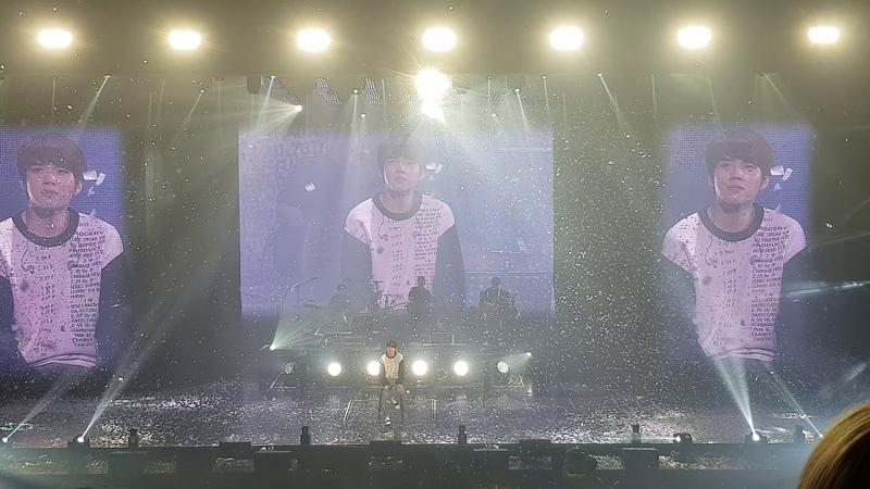 181104 남우현 솔로 콘서트 식목일 막콘 - 엔딩 WOOHYUN