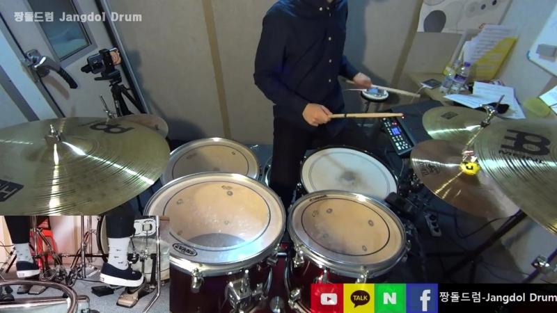 동방신기(TVXQ!)-운명(The Chance of Love) _ 짱돌드럼 Jangdol Drum (드럼커버 Drum Cover, 드럼악보 Drum Score)