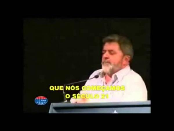 FORO DE SAO PAULO Lula e Dilma do PT Falando do Socialismo na América Latina