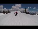 Fyve A Day In Lake Tahoe CA Snowboarding
