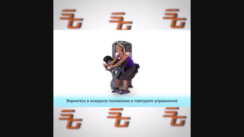 Силовой тренажер Трицепс PRECOR DSL208