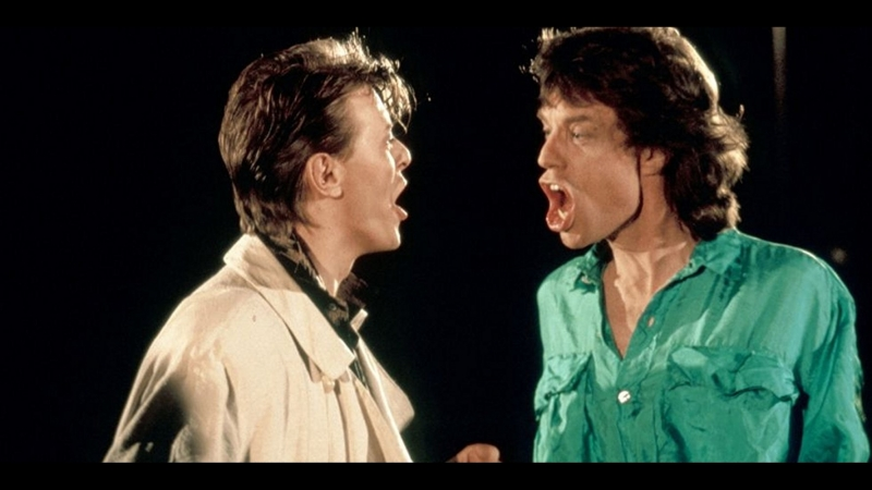 David Bowie Mick Jagger Dancing In The Street 1985