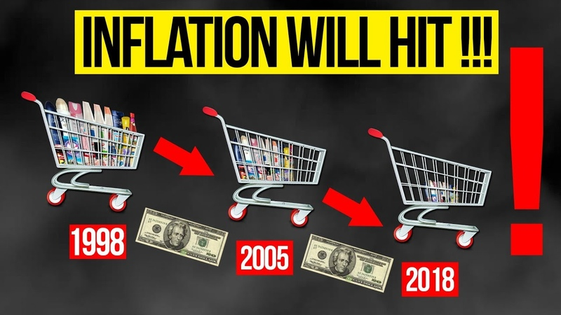 Peter SCHIFF Silently Robbing You Of Purchasing Power Since 1913 INFLATION WILL HIT