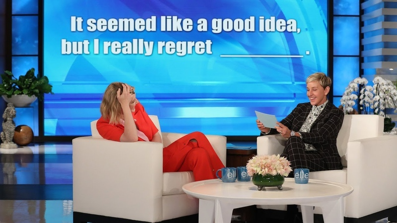 Ellen Plays an Unpredictable Game of Fill in the Blanchett with Cate Blanchett