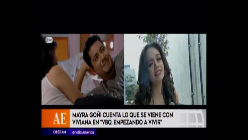 Mayra Goñi cuenta lo que se viene con Viviana en VBQ Empezando a Vivir