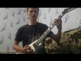 Гитара мой наркотик.ламповая запись)) Melodic Metalcore.#1. ХаусRec)))