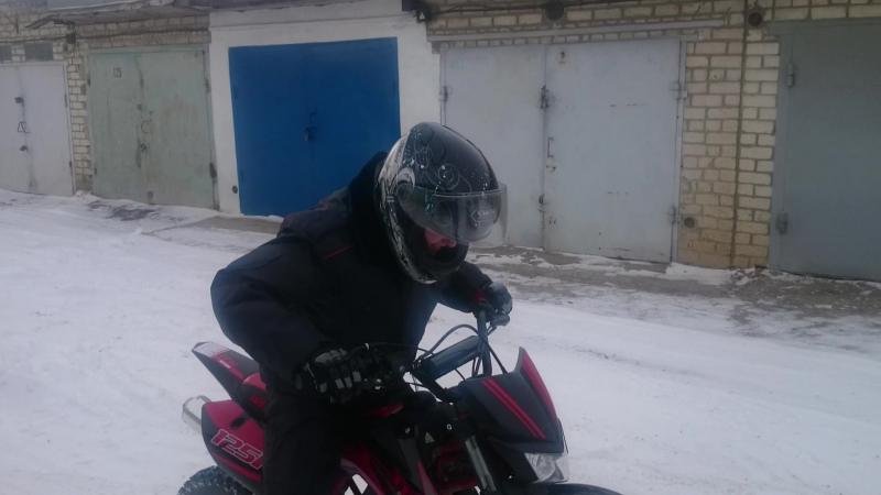 замарашка и снег