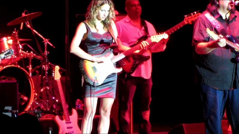 Coco Montoya, Ana Popovic, Eric Sardinas, Fannie Mae, Full 16 minute video, B-Town Blues Fest, 2012