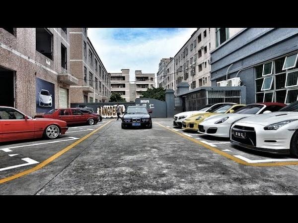 У китайца в коллекции более 100 авто! Mercedes w140 V12 AMG так сохранился?!