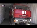 Врио Главы ДНР Денис Пушилин принял участие в открытии пожарно-спасательной части в Снежном