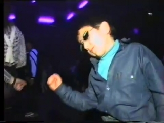Ukraine, 1997 - kid dancing in club