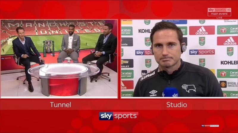 Послематчевая студия [Sky Sports, HD]