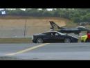 The ultimate race! Суперкар, супербайк, автомобиль F1, частный самолет и истребитель идут голова к голове так кто победит? Го