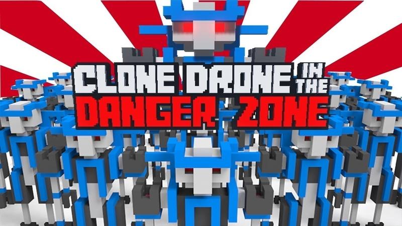 Clone Drone in the Danger Zone ► АТАКА КЛОНОВ ► 1