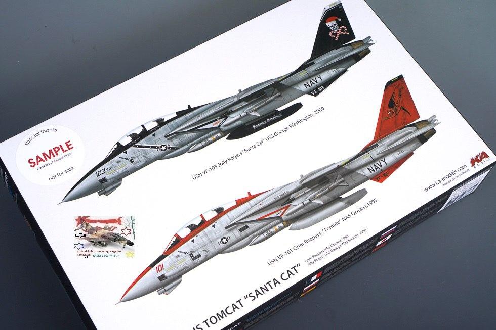 Review] KA Models 1/72 F-14A Plus