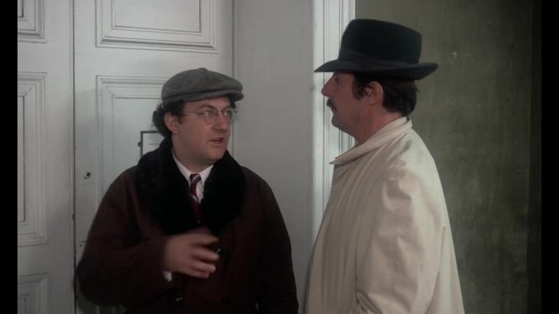 Туалет был заперт изнутри (Франция, 1976) HD1080, детективная комедия, Колюш, Жан Рошфор