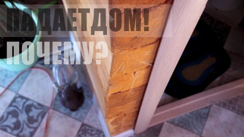 Падает новый дом! ЧТО ДЕЛАТЬ? Stone Wood
