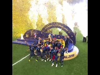 Кубок Чемпионата мира FIFA - у Франции!
