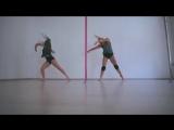 Ольга Якимова и Наталья Гусева. Pole Contemporary. Kats dance studio