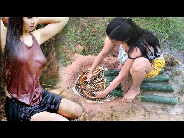 LIVE: Top 5 Primitive Technology Make DIY Simple Bird Trap And Fish Trap Working 100%