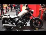 2018 Honda Rebel 500 - Walkaround - 2018 Toronto Motorcycle Show 2