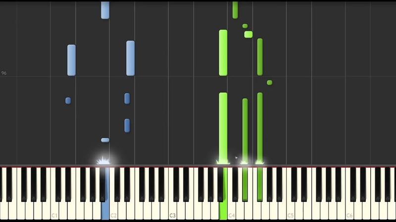 スパークル/RADWIMPS(ピアノソロ中級)【楽譜あり】 Your Name - Sparkle [PIANO] 你的名字1229
