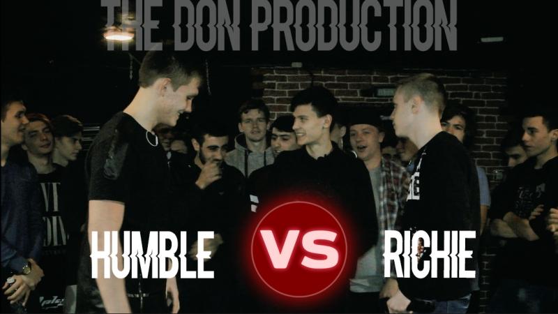 Рвут на битах| Bpm Rap-Battle | THE DON PRODUCTION | Richie vs Хамбл