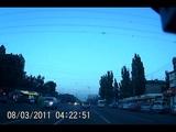 Полное видео нападения быдла на автоледи в Воронеже