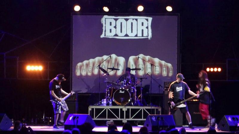 Boor - No Trust (Live at Bingo club, Kiev, 16.03.2018)