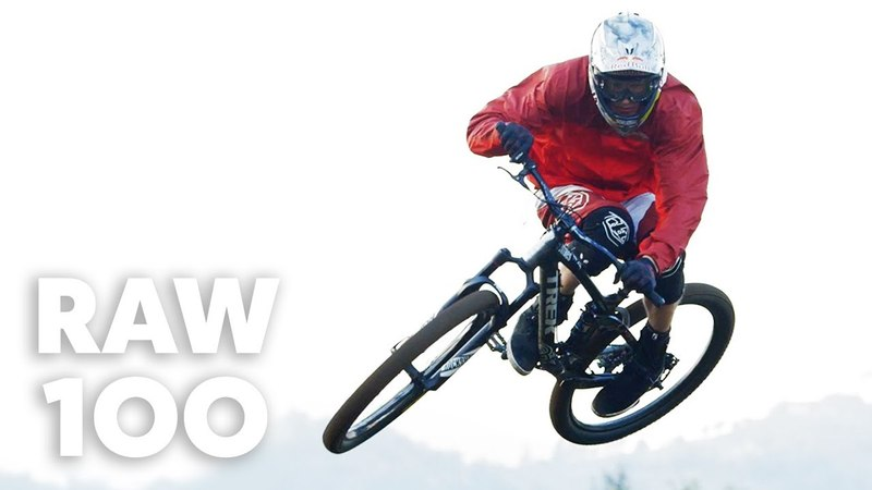 Brandon Semenuk Shreds a Pristine Slopestyle MTB Trail | Raw 100