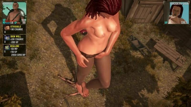 Goddess of Trampling (RPG Game)