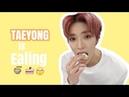 Taeyong is Eating