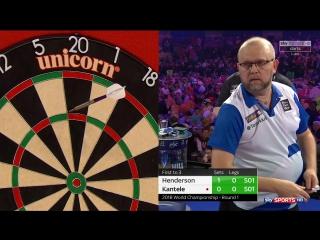 John Henderson vs Marko Kantele (PDC World Darts Championship 2018 / Round 1)