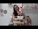 Papai Noel GIGANTE - Faça você mesmo - Biscuit - Raquel Fontinele