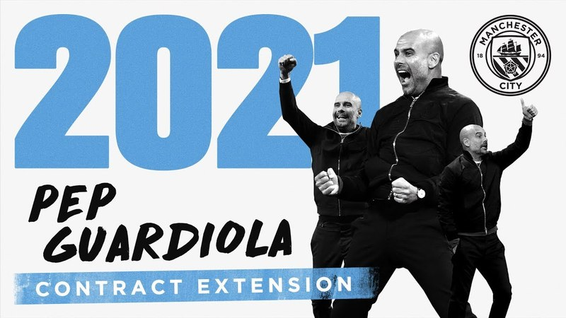 PEP GUARDIOLA   CONTRACT EXTENSION   Exclusive Interview