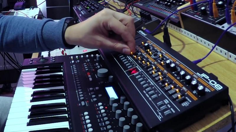 Roland JP-08 Berlin School Sequences BOSS RV-3