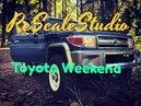 Rc scale studio 1 10 rc4wd trail finder 2 lwb Toyota Land Cruiser 70 Forest Weekend