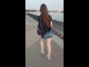 С Аней на Кубанонабережной танцуем и поём😂