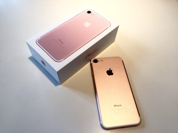 IPhone 7 ☺❤ распаковка первое впечатление обзор сравнение с iPhone 6 - восторг