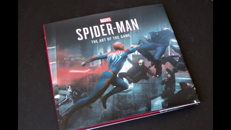 (book flip) Marvels Spider-Man The Art of the Game