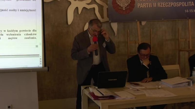 Konferencja partii II Rzeczpospolita Polska 14-15.04.2018 część 3